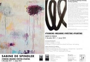 Einladung Ausstellung Sabine de Spindler -1