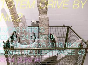 Flyer_totem drive by